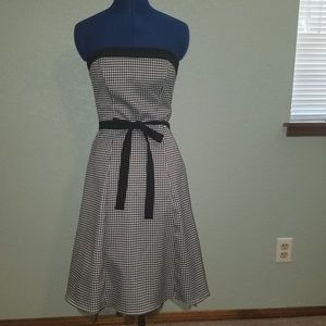 City Triangles houndstooth party dress